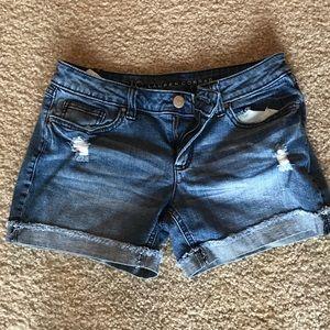 Lauren Conrad Size 4 Jean Denim Shorts Euc